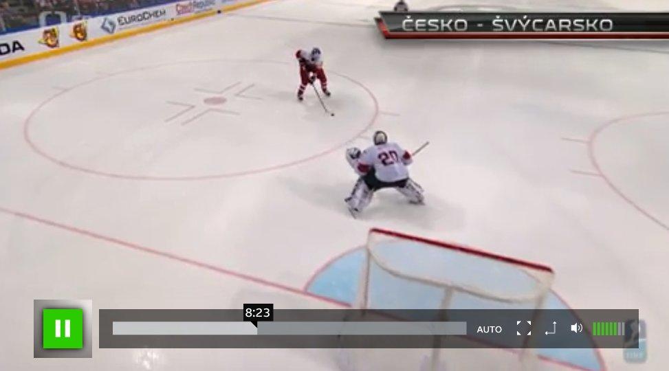 Česko vs. Kanada MS v hokeji 2015