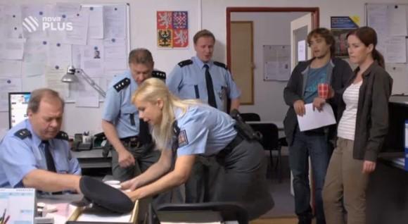 Policie v Kašperských horách je vždy připravena.